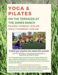 Pilates on the Terraces